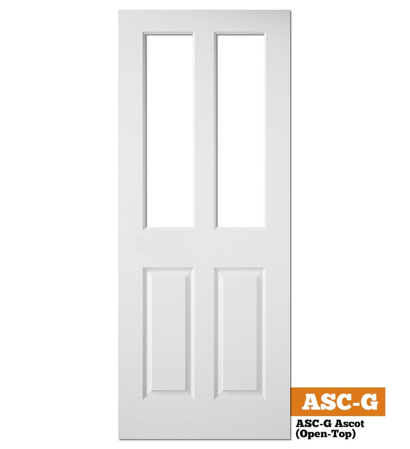 ASC-G Ascot (4 Panel Smooth) Unglazed - Hollow Core
