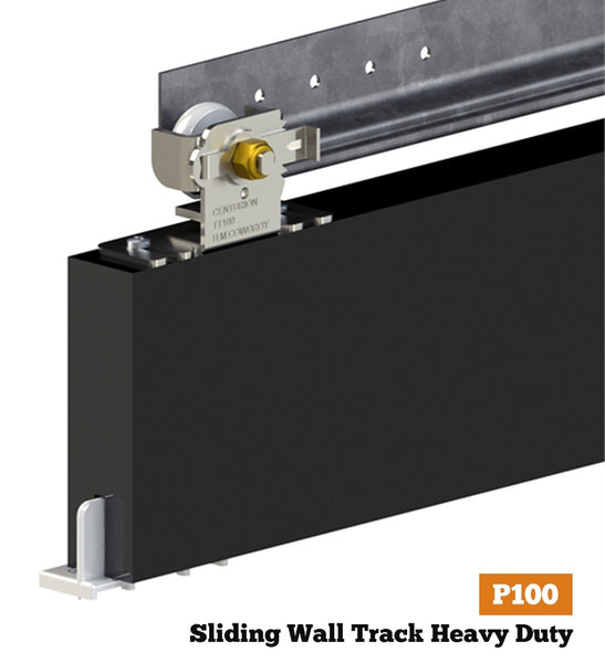 Centurion P100 - Sliding Wall Track Heavy Duty