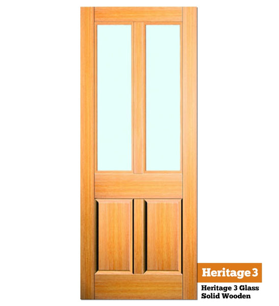 Heritage 3 Glass - Exterior Doors