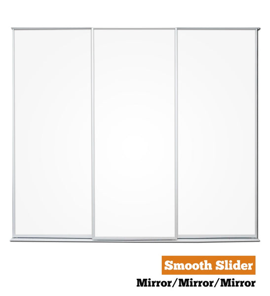 Smooth Slider - Triple - Mirror-Mirror-Mirror