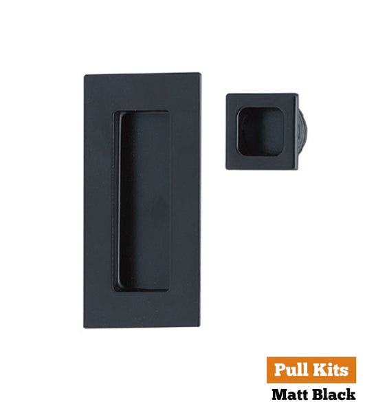 Square Edge Flush Pull Kit