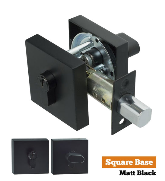 S range single cylinder deadbolt - Square