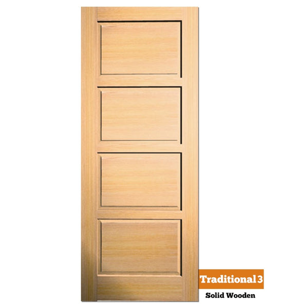 Traditional 3 - Exterior Doors