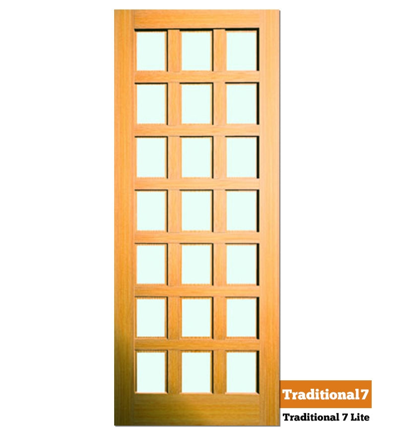Traditional 7 Lite - Exterior Doors
