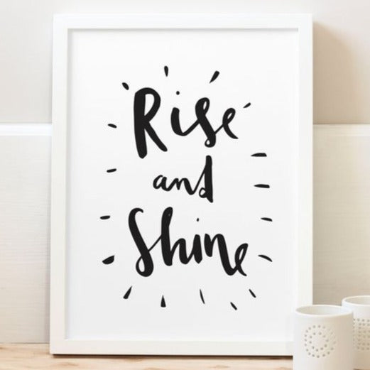 Rise & Shine - Picture Frame
