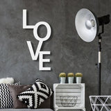 LOVE vertical - Wall Art