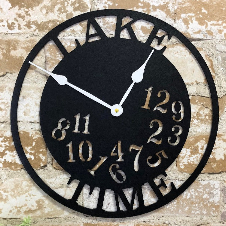 Dancing Numbers - Wall Clock (Customized Name)