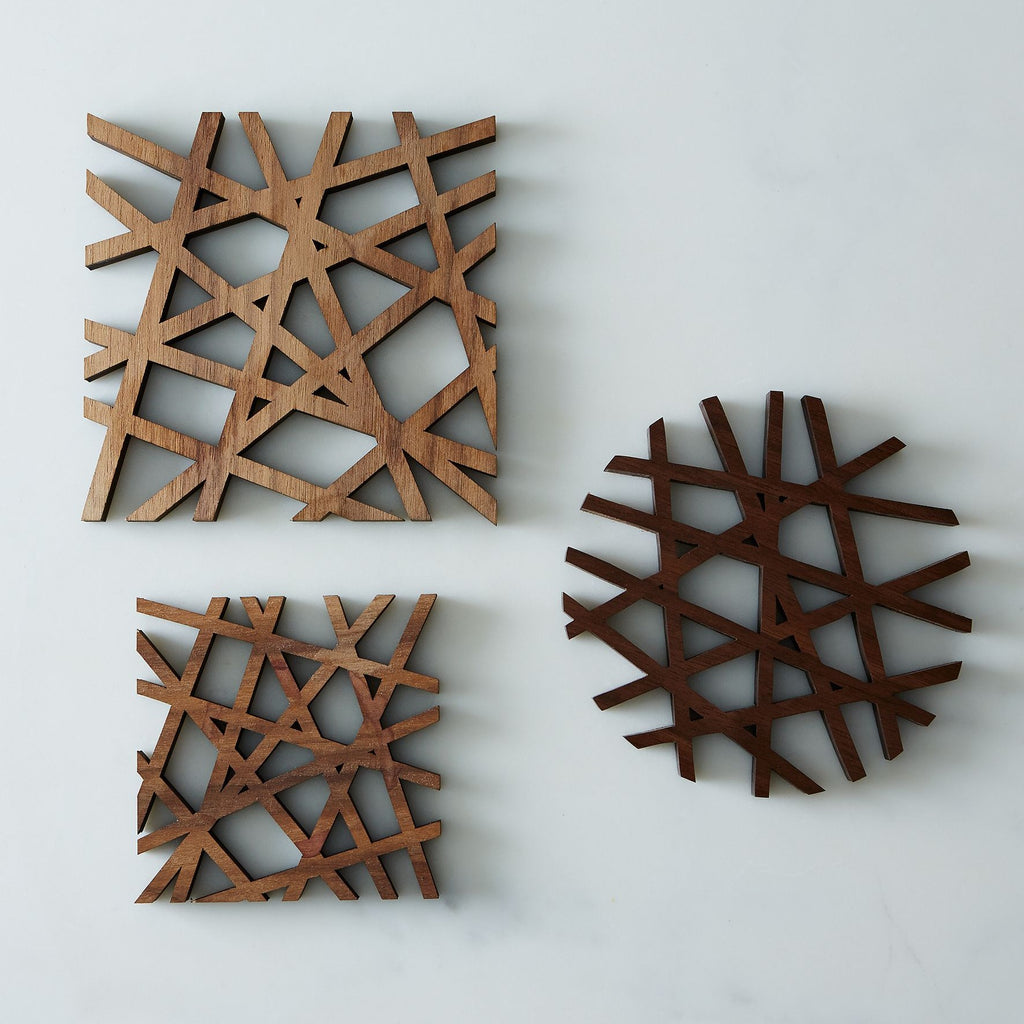Square - Coasters (Pack of 3)
