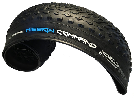 Vee Tire Co. Mission Command Fat Tire Folding Bead Multi Purpose Bicycle Tire