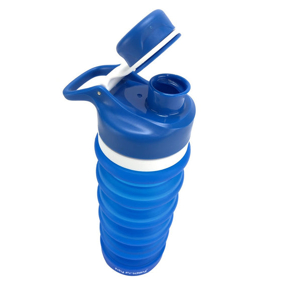 18.8oz Collapsible Silicone BPA Free Water Bottle