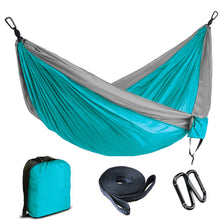 Portable Double Lightweight Parachute Outdoor Hammock for Camping
