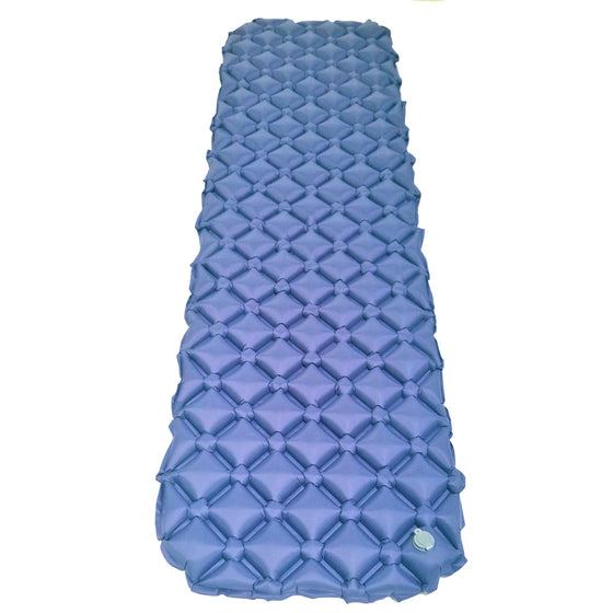Comfortable Inflatable Camping Sleeping Pad Hiking Backpacking Air Mattress