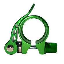 RNX 31.8mm Quick Release Aluminum Bicycle Seat Post Clamp - Available in 5 Colors