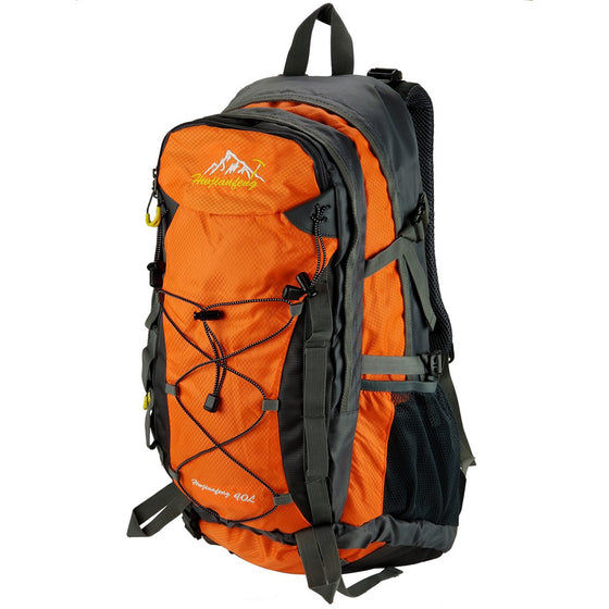 40L Expedition Waterproof Backpack & Camping Pack