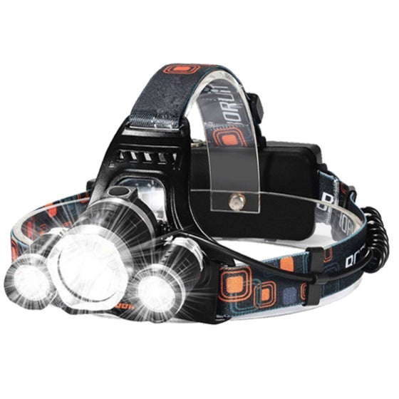Rechargeable Adjustable LED Head Lamp 2400L