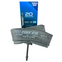 20x1.90 Vee Tire 20 inch Bike Tire Bicycle Inner Tube 48mm Presta Valve