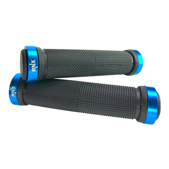 RNX Lock on Bike Grips with End Caps