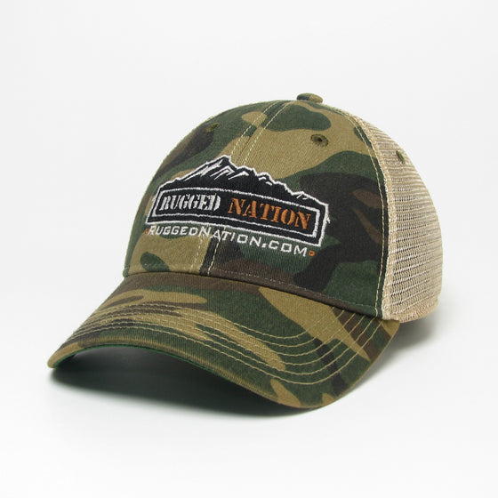 Rugged Nation Old Favorite Trucker Hat by Legacy Resort Wear