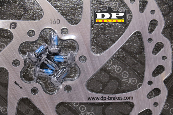 BRAKE MONSTER CRYOROTOR - DP BRAKES 1 Piece 160mm 6 Bolt Frozen Disc Brake Rotor
