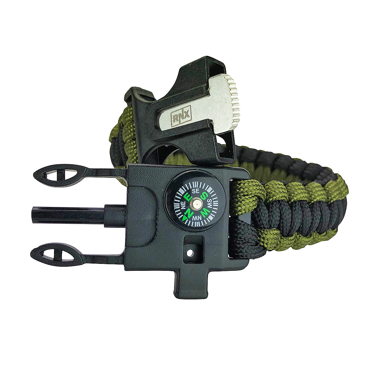5 in 1 RNX Multifunctional Tactical Camping Paracord Survival Bracelet