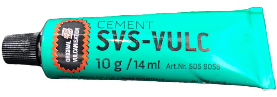 1 Tube of Rema SVS-VULC Tube Patch Vulcanizing Cement 10 gram (14 ml)