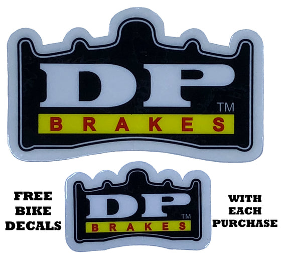 XC ECO - DP BRAKES Organic Disc Brake Pads for Hayes HFX Brake Systems