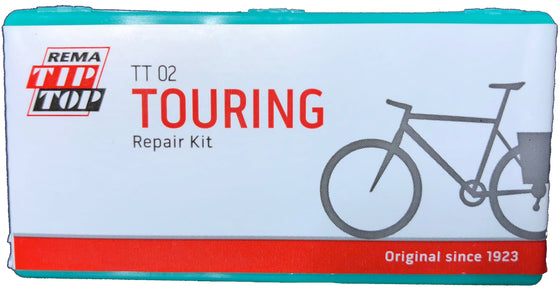 REMA Touring Bicycle Tube Patch Repair Kit in Small or Large