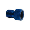 Presta Valve Adapter - Converts Presta Valves to Standard Schrader Valve Use - Available in 3 Colors