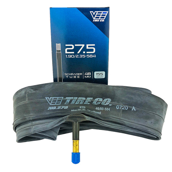 27.5x1.9 Vee Tire Bicycle Inner Tube 48mm American Schrader Valve 27.5X1.90 Tube