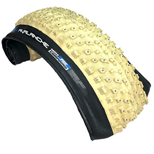 Vee Tire Co. Snow Avalanche Studdable Fat Tire Folding Bead Silica Compound Bike Tire