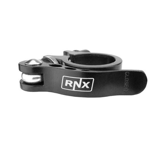 RNX 31.8mm Quick Release Bicycle Seat Post Clamp Aluminum Bike Seatpost Clamp