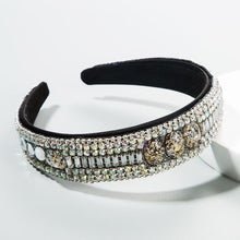 Load image into Gallery viewer, Full Rhinestone with additional stones headband