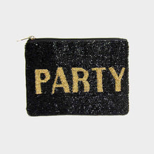 Load image into Gallery viewer, Beaded Party Clutch