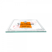 Load image into Gallery viewer, Large Veuve Clicqout decorative tray
