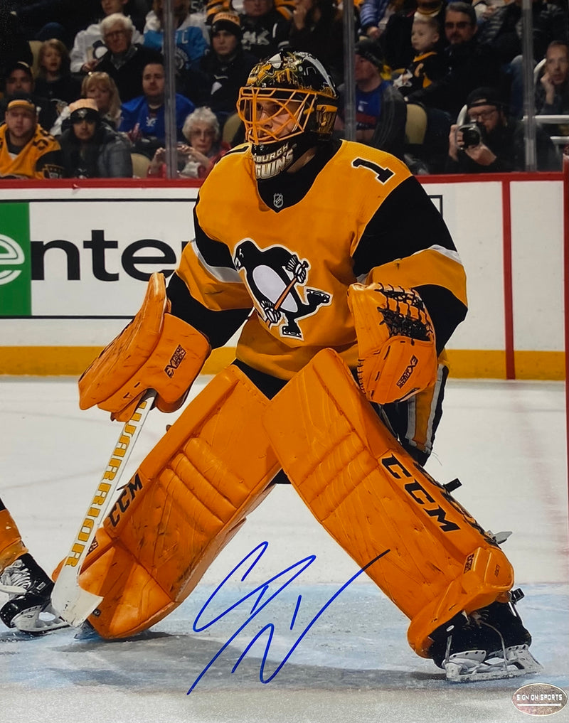 Casey DeSmith Signed Pittsburgh Penguins 8x10 Photo