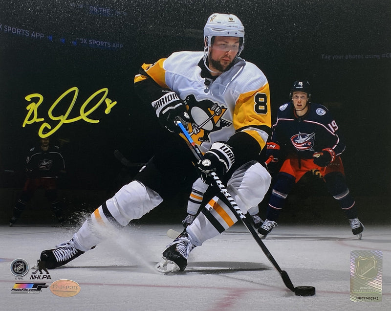 Brian Dumoulin Signed Pittsburgh Penguins Spotlight 8x10 Photo