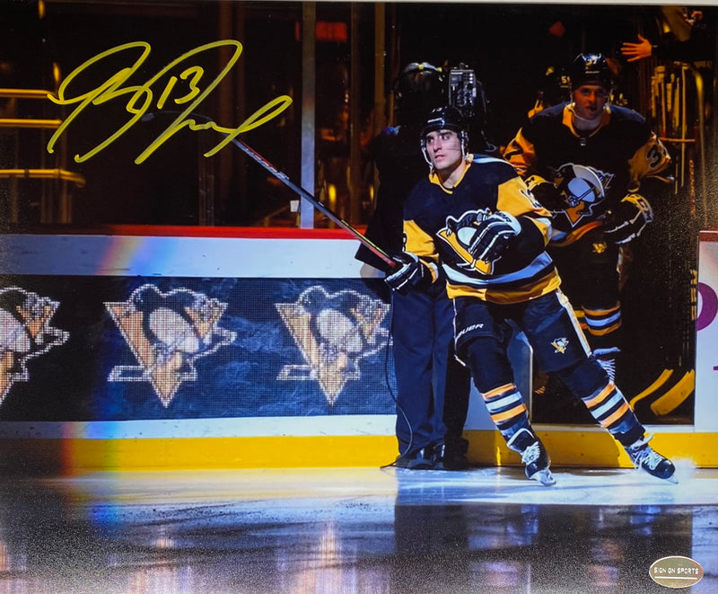 Brandon Tanev Signed Pittsburgh Penguins 8x10 Photo