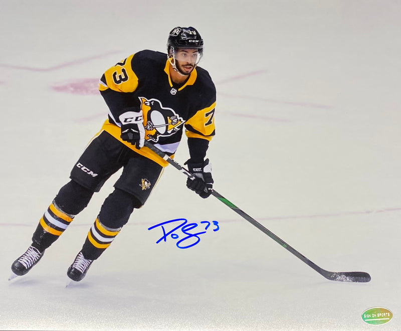 Pierre-Olivier Joseph Signed Pittsburgh Penguins 8x10 Photo
