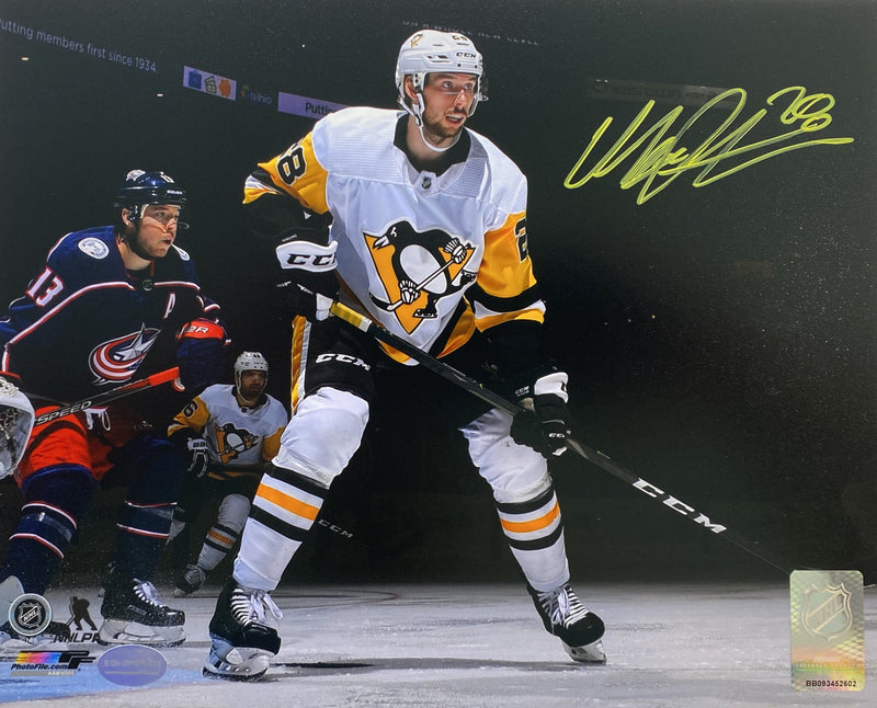 Marcus Pettersson Signed Pittsburgh Penguins Spotlight 8x10 Photo