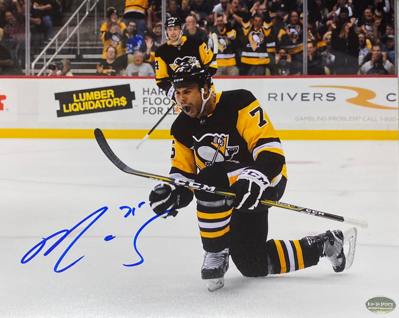Ryan Reaves Signed Pittsburgh Penguins 8x10 Photo