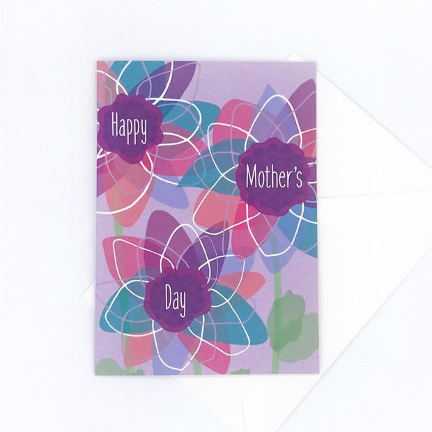 Mother's Day Floral Greeting Card - Sustainably Sourced 1