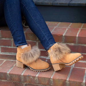 LADIES AMANDA SHEEPSKIN BOOT