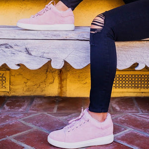 LADIES HOLLY SHEEPSKIN SNEAKER - Cloud Nine Sheepskin