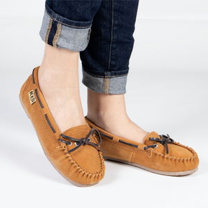 LADIES UNLINED DRIVING MOCCASIN - Cloud Nine Sheepskin