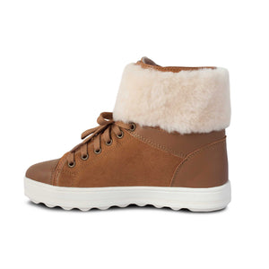 LADIES CHAMP SHEEPSKIN TRIMMED BOOT