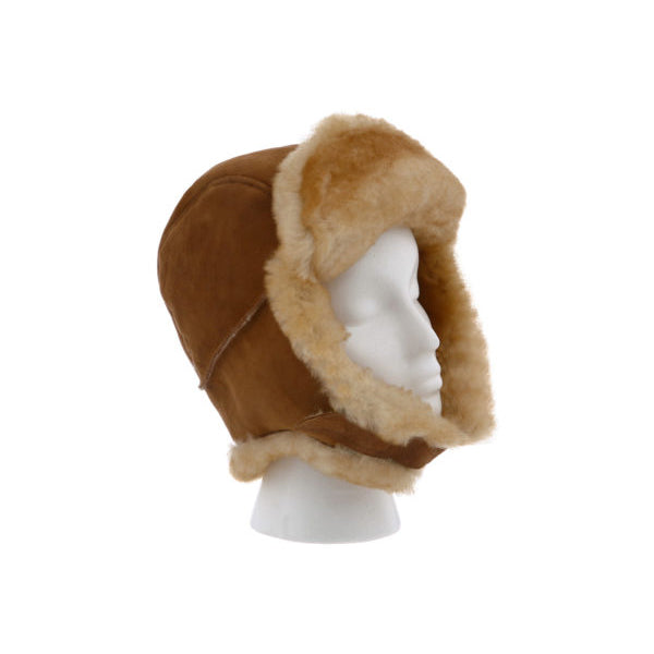 TROOPER SHEEPSKIN HAT - Cloud Nine Sheepskin