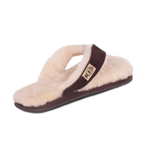 LADIES SHEEPSKIN FLIP FLOPS - Cloud Nine Sheepskin