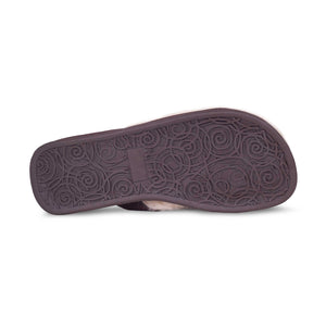 LADIES SHEEPSKIN FLIP FLOPS
