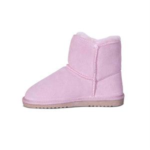 KIDS SHEEPSKIN POM POM BOOT - Cloud Nine Sheepskin