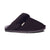 Ladies Sheepskin Scuff Black - side